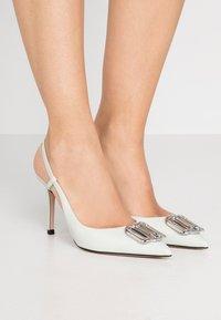 HUGO - PIPER SLING - High heels - light pastel green - 0
