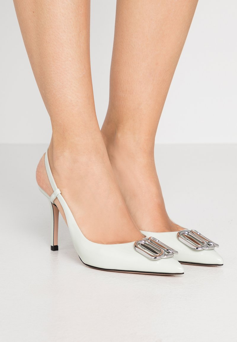 HUGO - PIPER SLING - High heels - light pastel green