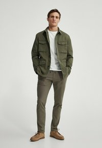 Massimo Dutti - Summer jacket - khaki - 3