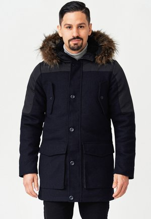 Winter coat - navy mix