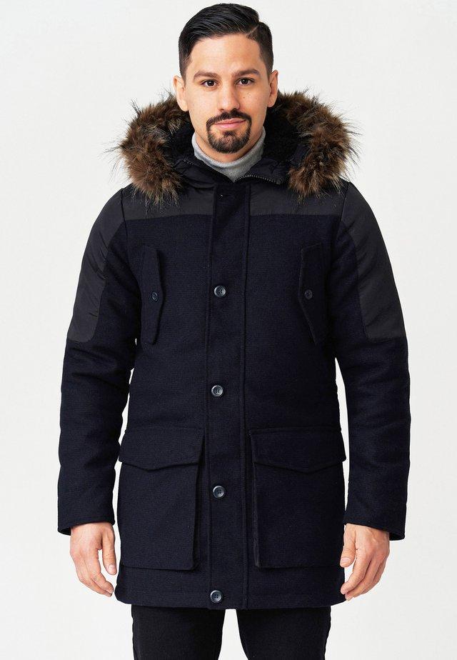 Abrigo de invierno - navy mix