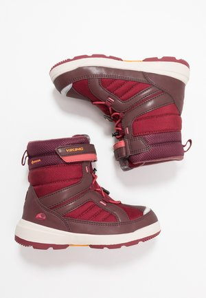 PLAYTIME GTX - Talvisaappaat - wine/dark red