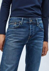 Pepe Jeans - CHEPSTOW - Jean droit - blue denim - 3