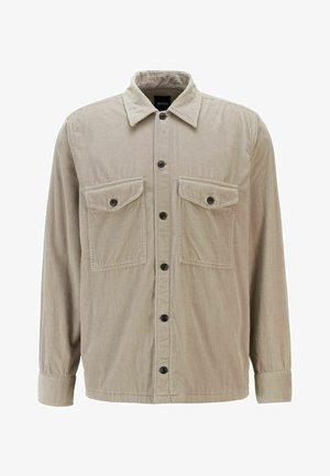 Shirt - open grey