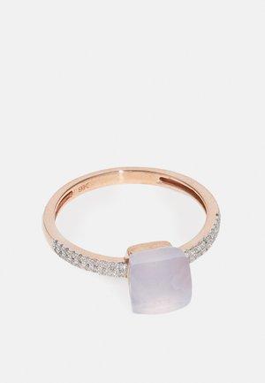 0,12 CT. DIAMOND - Ring - rose