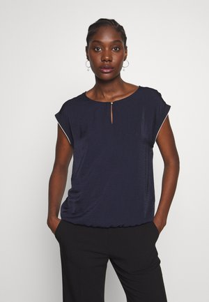 KURZARM - Blouse - navy