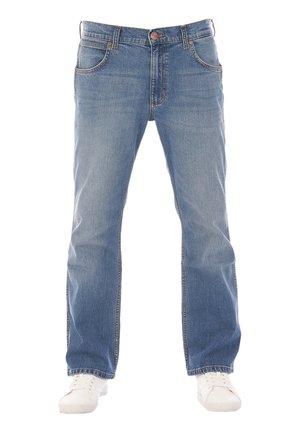 JACKSVILLE - Bootcut jeans - vintage worn