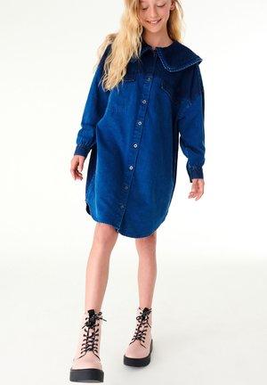 OVERSIZED  - Denim dress - blue