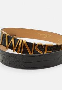 TWINSET - Belt - st. cocco nero - 4