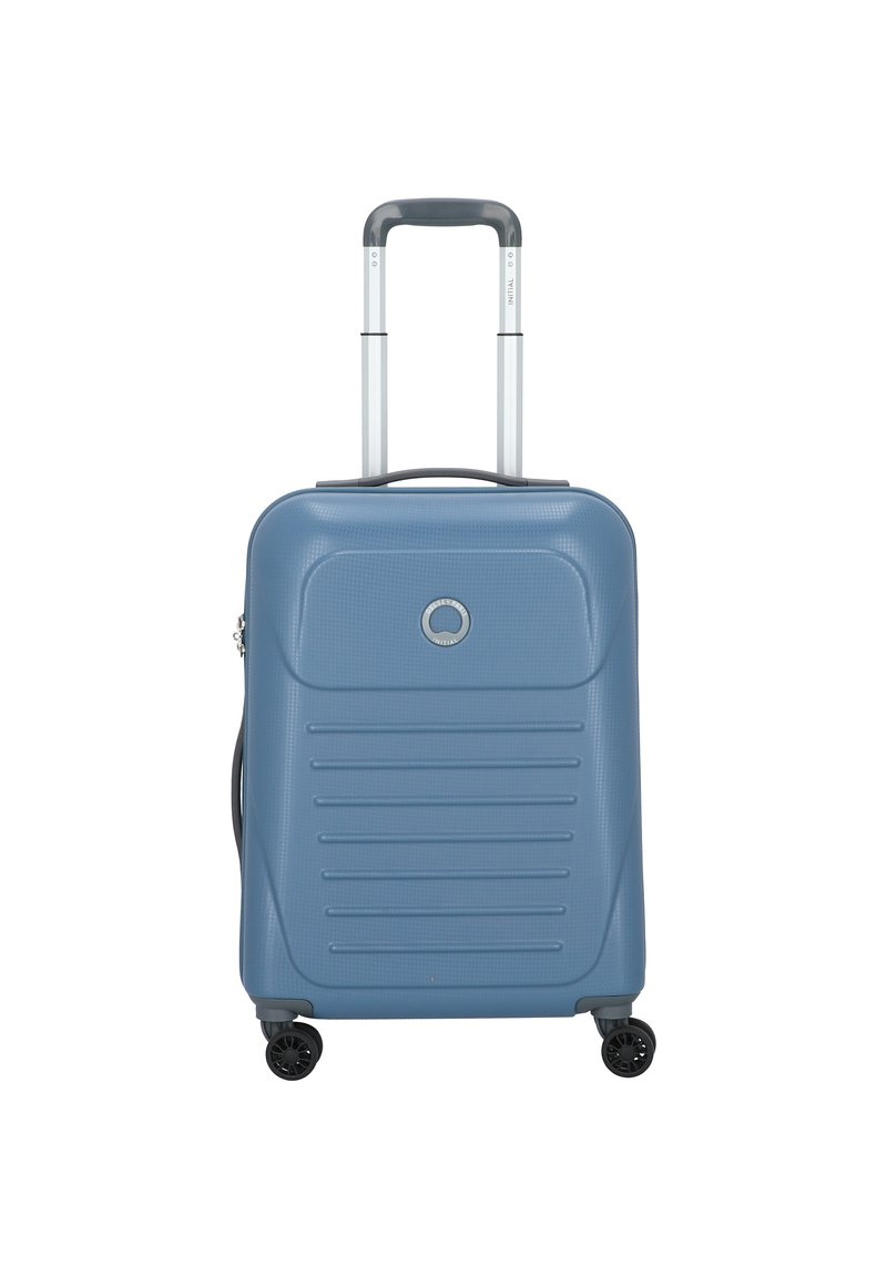 Delsey - DELSEY MUNIA 4-ROLLEN KABINENTROLLEY 55 CM - Wheeled suitcase - blue