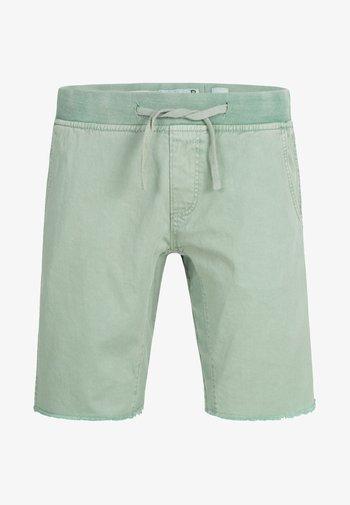 CARVER - Denim shorts - blue surf