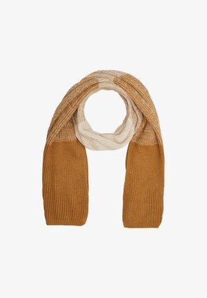 MIT FARBVERLAUF - Sjaal - beige knit