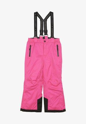 PLATON 725 SKI PANTS - Zimní kalhoty - dark pink