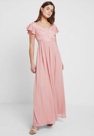 Společenské šaty - blush pink
