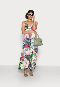 Desigual - TROPICAL - Korte jurk - material finishes - 1