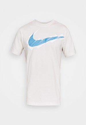 TEE LOGO - Print T-shirt - light bone
