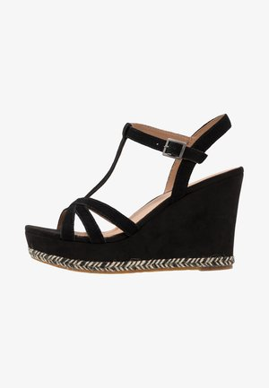 MELISSA - High heeled sandals - black