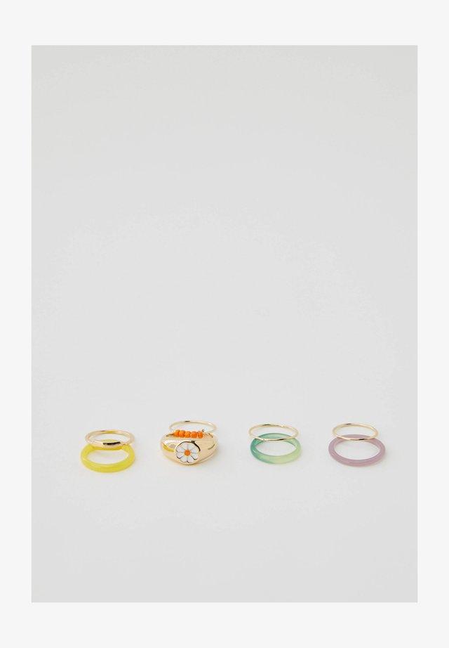 8 PACK - Ring - multi-coloured