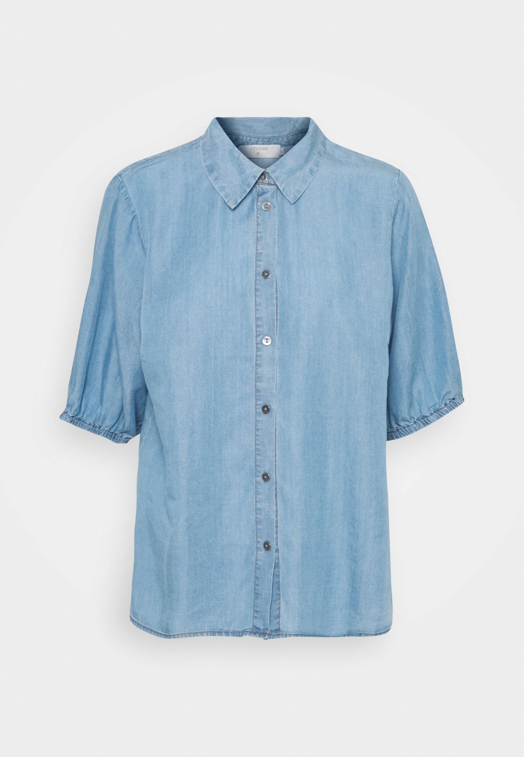 Women AMIRA BALLON SLEEVE - Button-down blouse