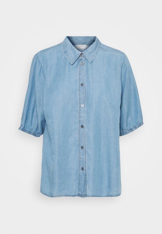 AMIRA BALLON SLEEVE - Camicia - blue denim