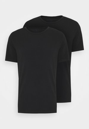 SOLID THOMAS TEE 2 PACK - Undershirt - black beauty