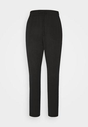 VMSAGA STRING PANT - Spodnie materiałowe - black