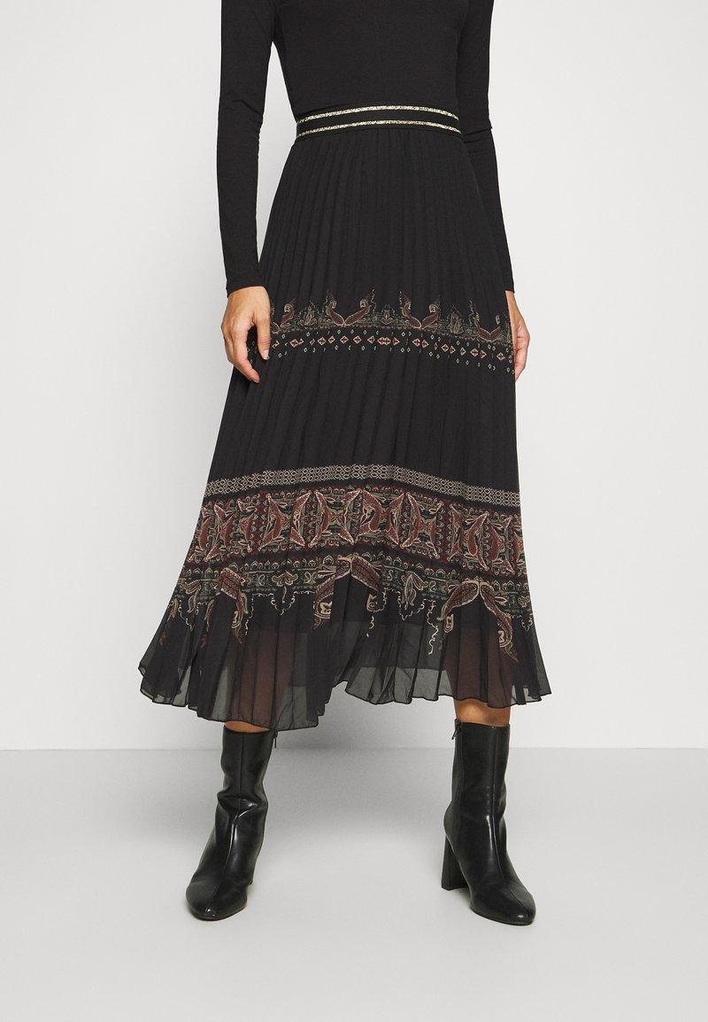 Desigual - FAL MURRAY - A-line skirt - black