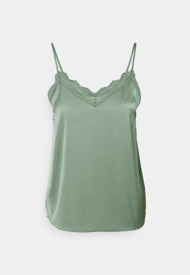 LEELA SINGLET - Top - chinois green