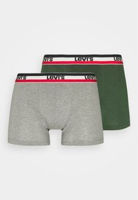 LOGO BOXER BRIEF 2 PACK - Pants - green