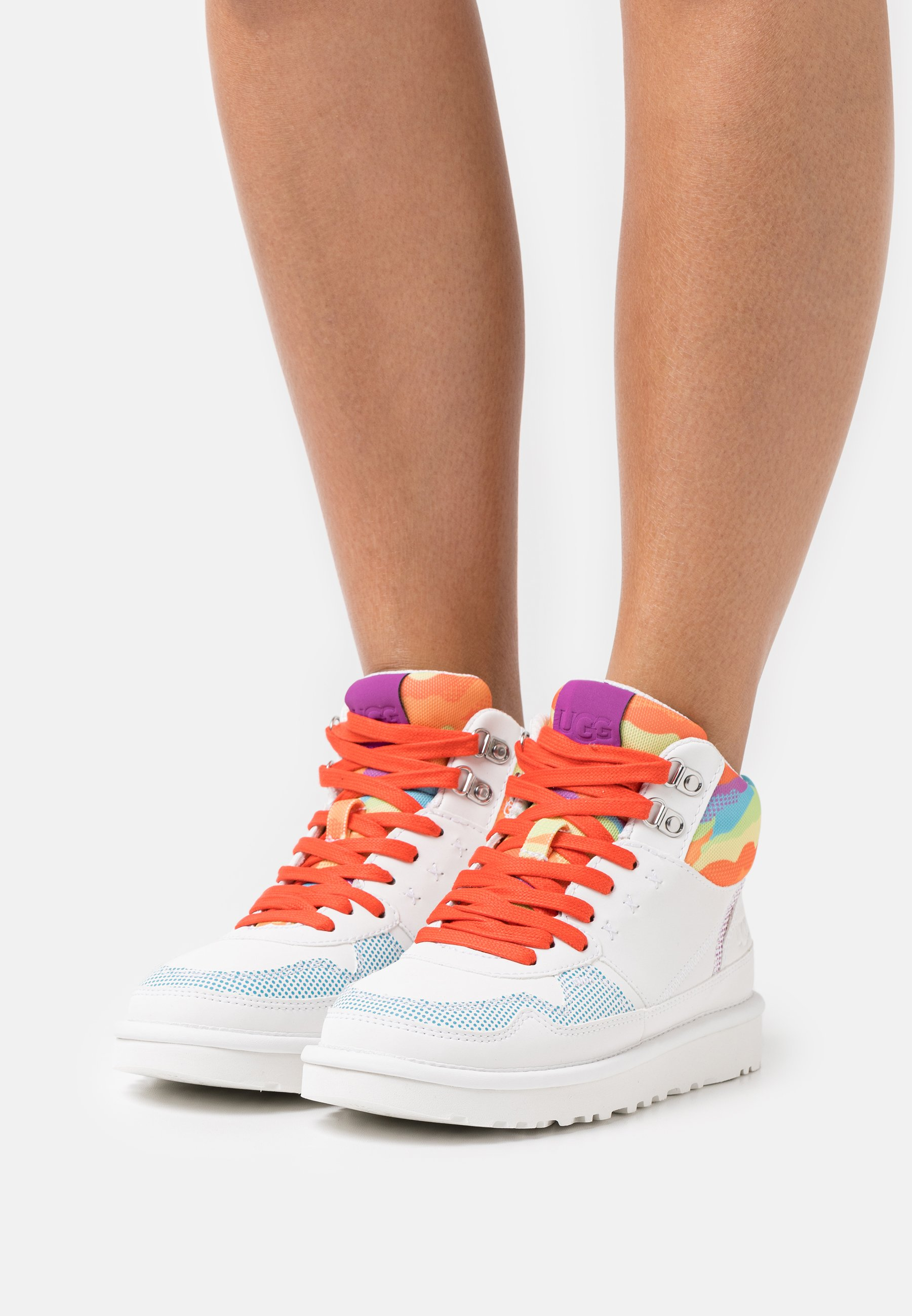 Women HIGHLAND CALI COLLAGE - High-top trainers - rainbow
