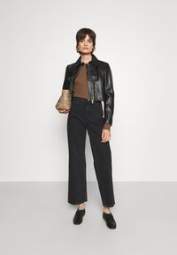 House of Dagmar - ALBA - Jeans a sigaretta - washed black - 1