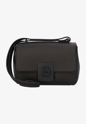 CROCO TURN  - Across body bag - noir