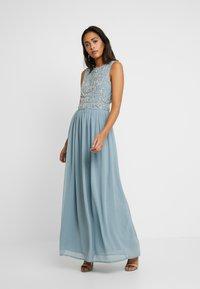 Lace & Beads - PAULA MAXI - Occasion wear - light blue - 2
