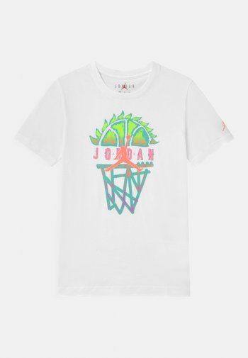 BASELINE UNISEX - Print T-shirt - white