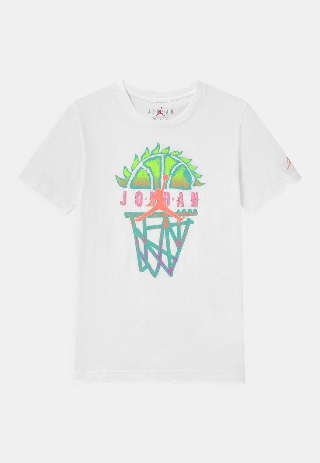 BASELINE UNISEX - T-shirt print - white
