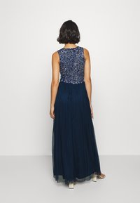 Lace & Beads Petite - PICASSO LEAF MAXI - Iltapuku - navy - 2