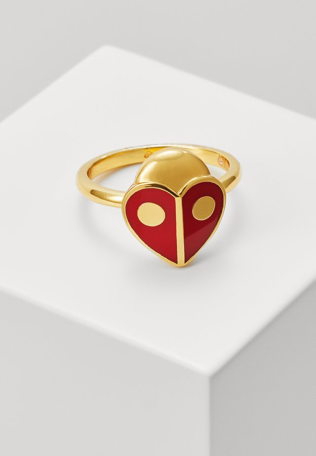 ANIMAL PARTY LADYBUG - Ring - red