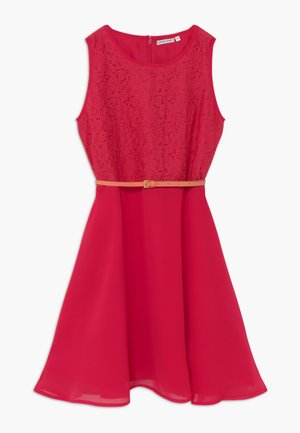 TEEN GIRLS - Cocktail dress / Party dress - raspberry