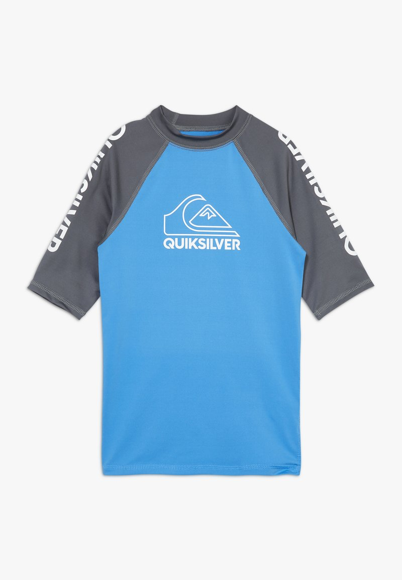 Quiksilver - ON TOUR YOUTH - Rash vest - blue nights