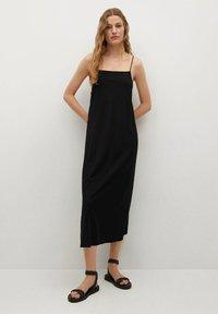 Mango - Day dress - schwarz - 0
