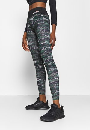 JYN - Leggings - black/green