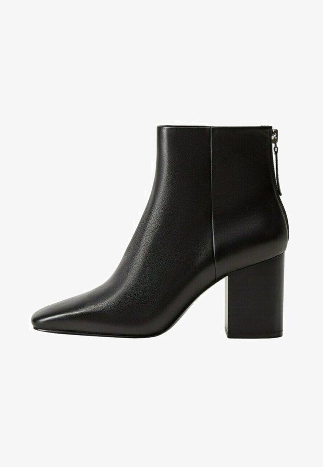 ALBA - Korte laarzen - schwarz