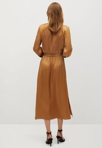 Mango - Maxi dress - okker - 1