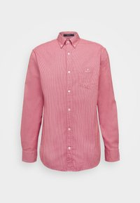 STRUCTURE REGULAR FIT - Shirt - fiery red