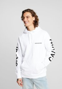 Calvin Klein Jeans - BACK LOGO  - Hoodie - bright white - 2