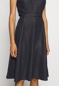 Lauren Ralph Lauren - WOODSTCK FOIL DRESS - Day dress - navy/silver - 5