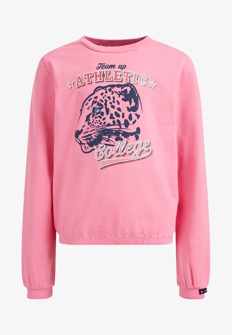 WE Fashion - T-shirt à manches longues - light pink