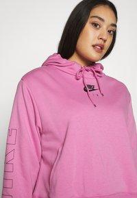 Nike Sportswear - AIR HOODIE PLUS - Hoodie - magic flamingo - 3