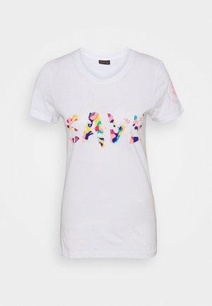 ISABELLA TEE - Print T-shirt - white