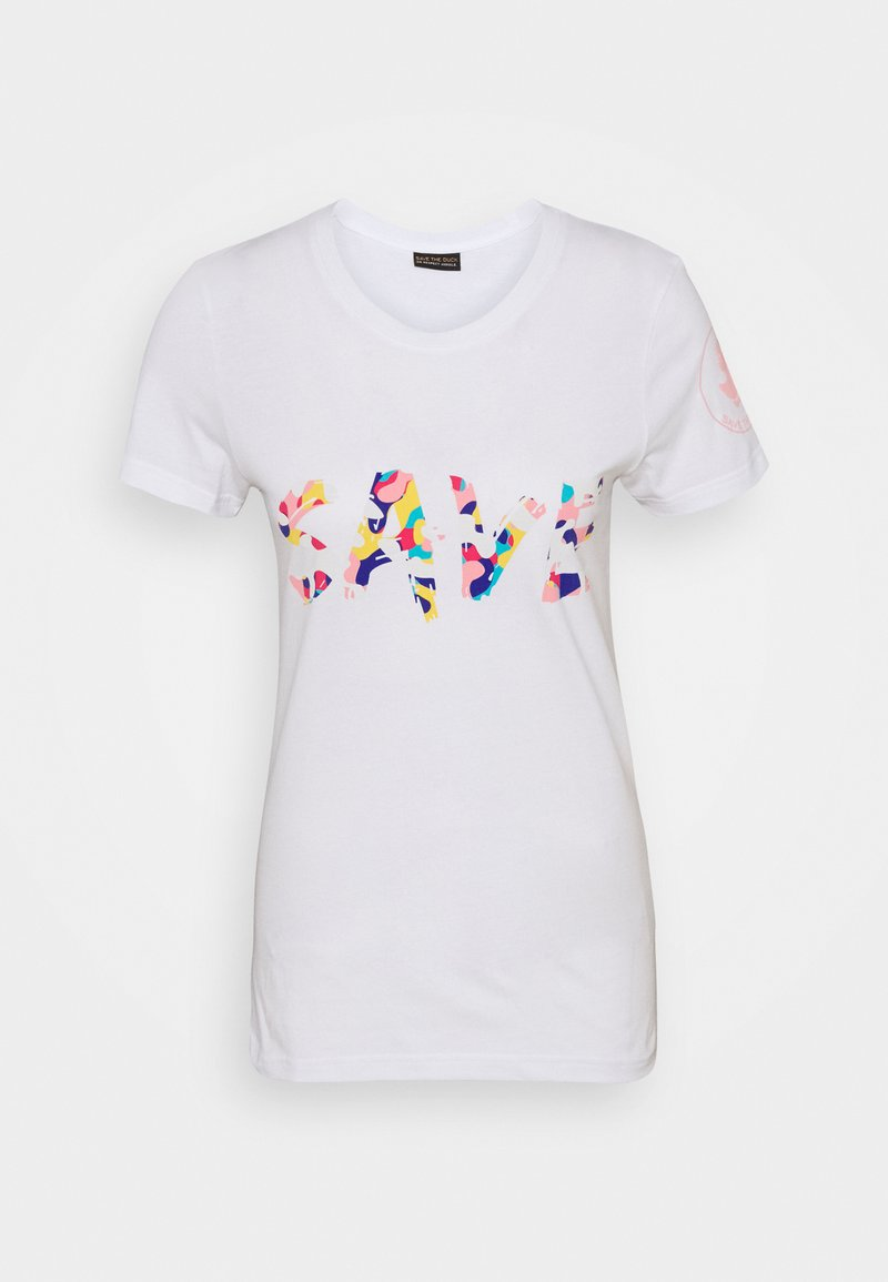 Save the duck - ISABELLA TEE - Print T-shirt - white